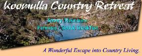 Koomulla Country Retreat - Accommodation VIC