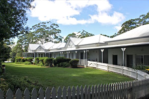Woodleigh Homestead Bed  Breakfast - Accommodation VIC