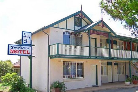 3 Explorers Motel - Accommodation VIC