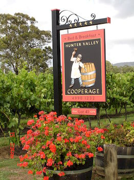 Hunter Valley Cooperage BampB - Accommodation VIC