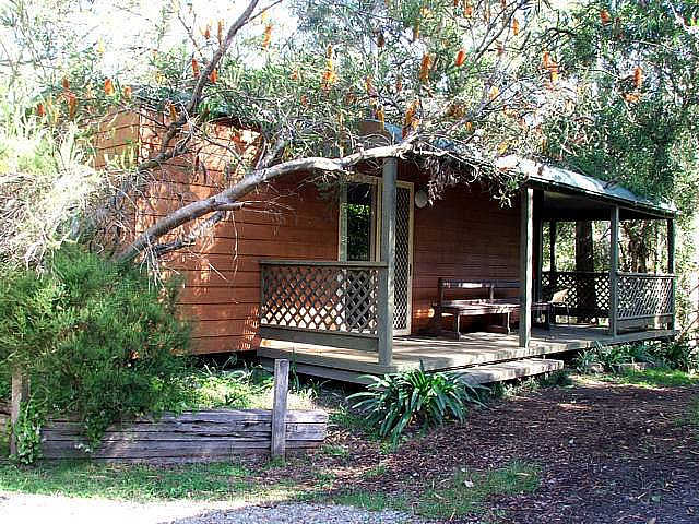 Jervis Bay Cabins  Hidden Creek Real Camping - Accommodation VIC