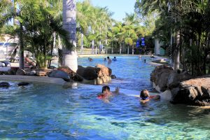 Big4 Aussie Outback Oasis Holiday Park - Accommodation VIC