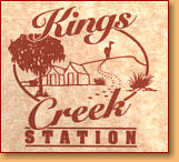 Kings Creek Station - Accommodation VIC