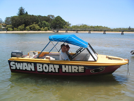 Swan Boat Hire - Accommodation VIC