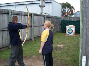 Bairnsdale Archery Mini Golf  Games Park - Accommodation VIC