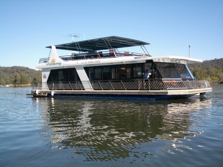 Able Hawkesbury River Houseboats - Accommodation VIC