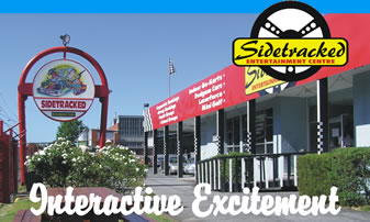 Sidetracked Entertainment Centre - Accommodation VIC