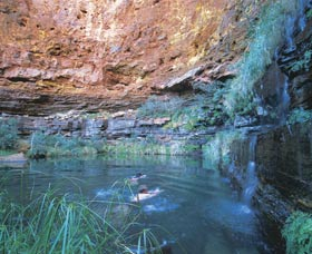 Dales Gorge and Circular Pool - Accommodation VIC