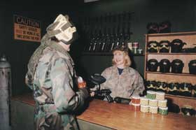 Indoor Skirmish - Paintball Sports - Accommodation VIC