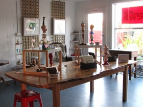 Portside Open Studio/Gallery of GINA - Accommodation VIC