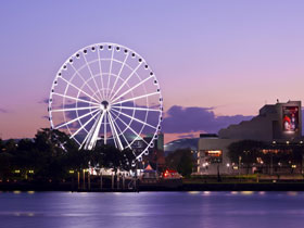 The Wheel of Brisbane - Accommodation VIC