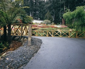 National Rhododendron Gardens - Accommodation VIC