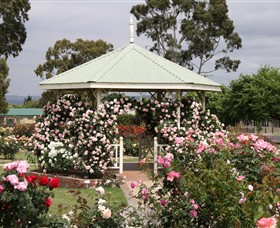 Morwell Centenary Rose Garden - Accommodation VIC
