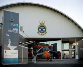 Fleet Air Arm Museum - Accommodation VIC