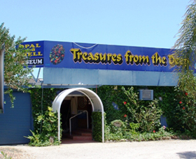 Treasures from the Deep - Opal and Shell Museum - Accommodation VIC