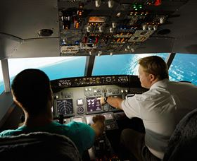 Jet Flight Simulator Sydney - Accommodation VIC