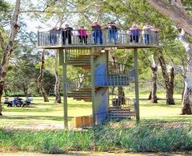 Darling and Murray River Junction and Viewing Tower - Accommodation VIC