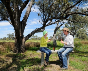 Restdown Wines and Walking Trail - Accommodation VIC