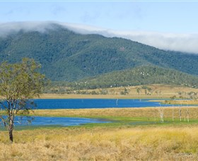 Lake Elphinstone - Accommodation VIC