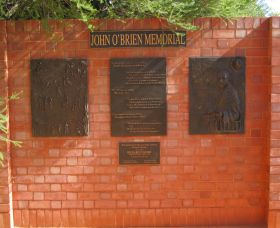 John OBrien Commemorative Wall - Accommodation VIC