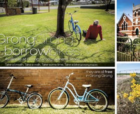 Grong Grong Borrow Bikes - Accommodation VIC