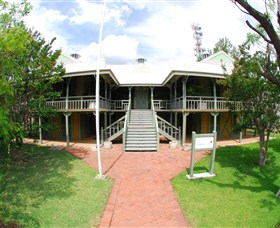 Moree Lands Office Historical Building - Accommodation VIC