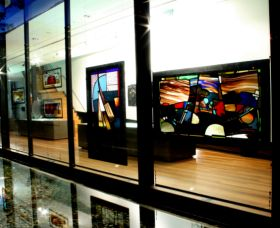 National Art Glass Collection - Accommodation VIC