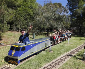Willans Hill Miniature Railway - Accommodation VIC