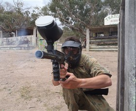Hot Shots Paintball Skirmish - Accommodation VIC