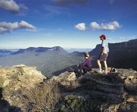 Blue Mountains National Park - National Pass - Accommodation VIC