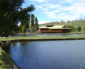 Gaden Trout Hatchery - Accommodation VIC