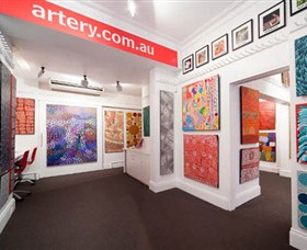 The Artery Aboriginal Art - Accommodation VIC