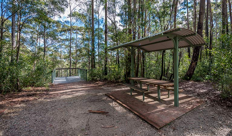 Big Nellie lookout and picnic area - Accommodation VIC
