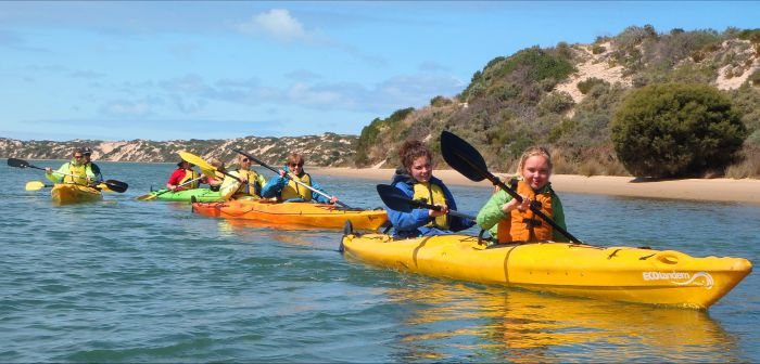 Canoe the Coorong - Accommodation VIC