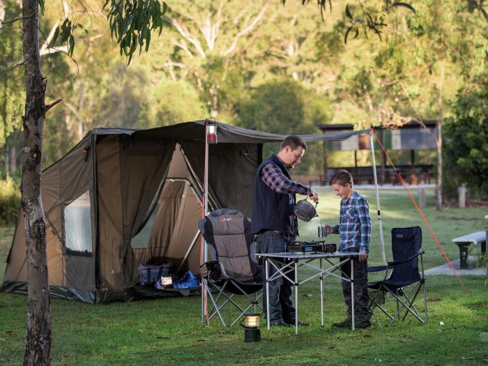 Hardings Paddock Campground - Accommodation VIC