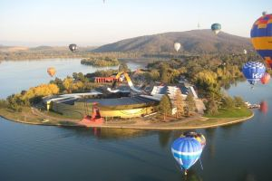 Canberra Hot Air Balloon Flight at Sunrise - Accommodation VIC