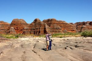 Bungle Bungle Flight Domes  Cathedral Gorge Guided Walk from Kununurra - Accommodation VIC