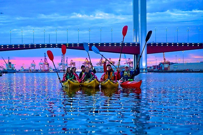 Melbourne City Twilight Kayak Tour