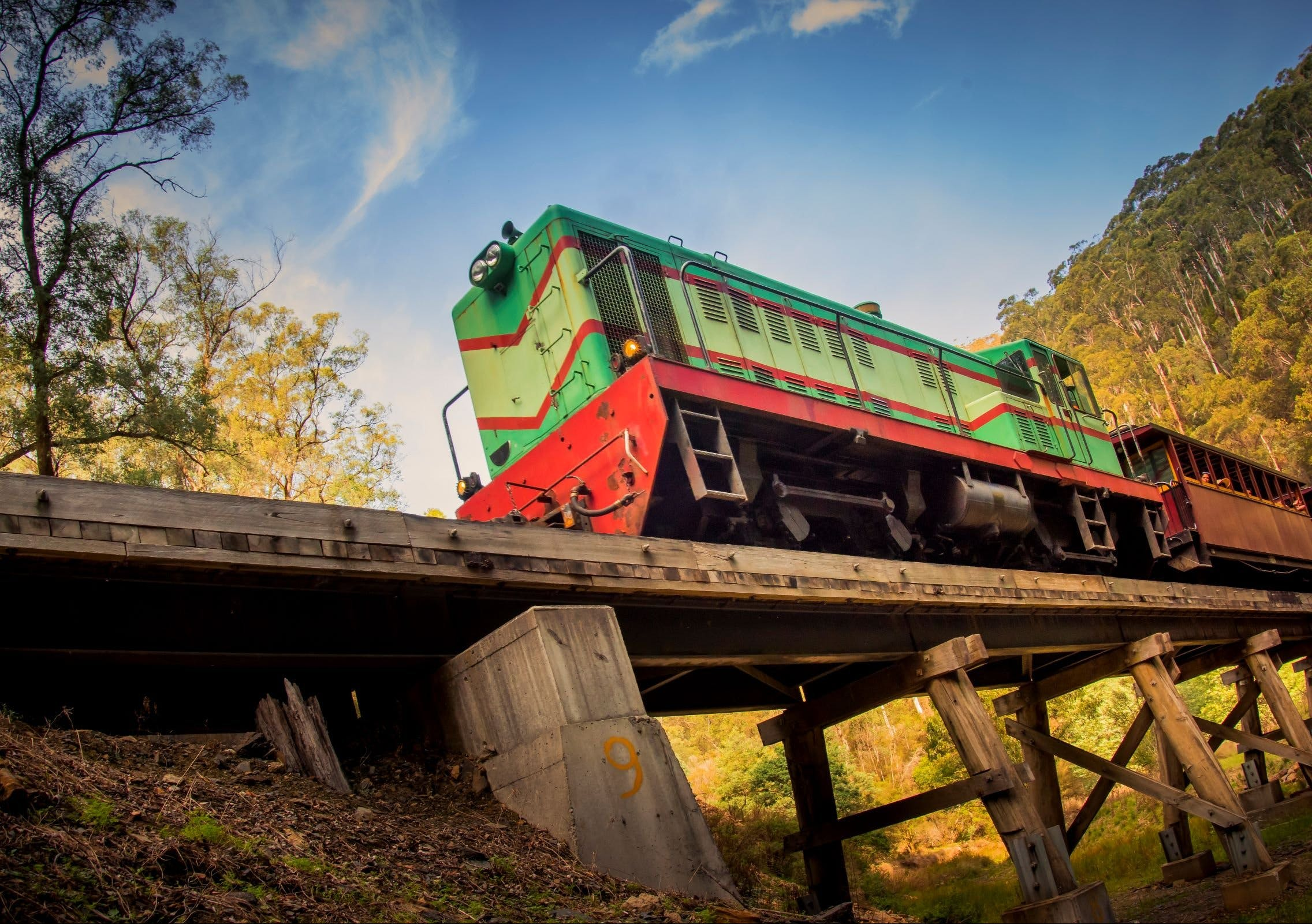 Walhalla Goldfields Railway - Accommodation VIC