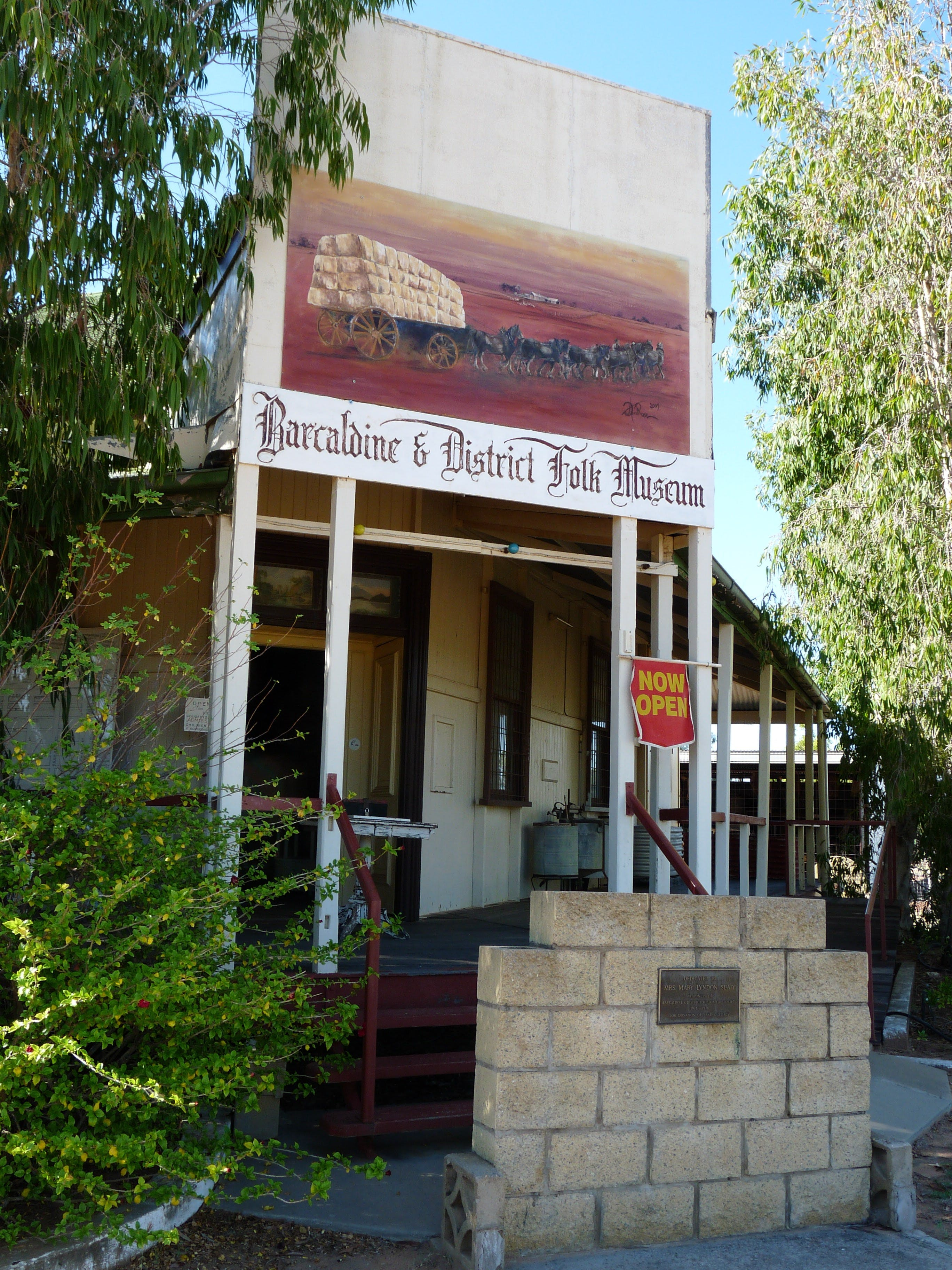 Barcaldine and District Historical Museum - Accommodation VIC