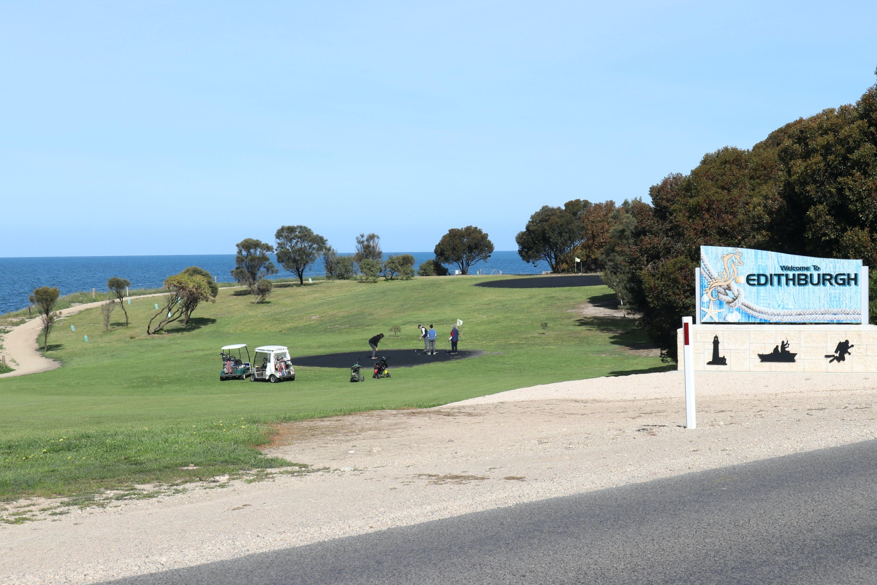 Edithburgh Golf Club - Accommodation VIC