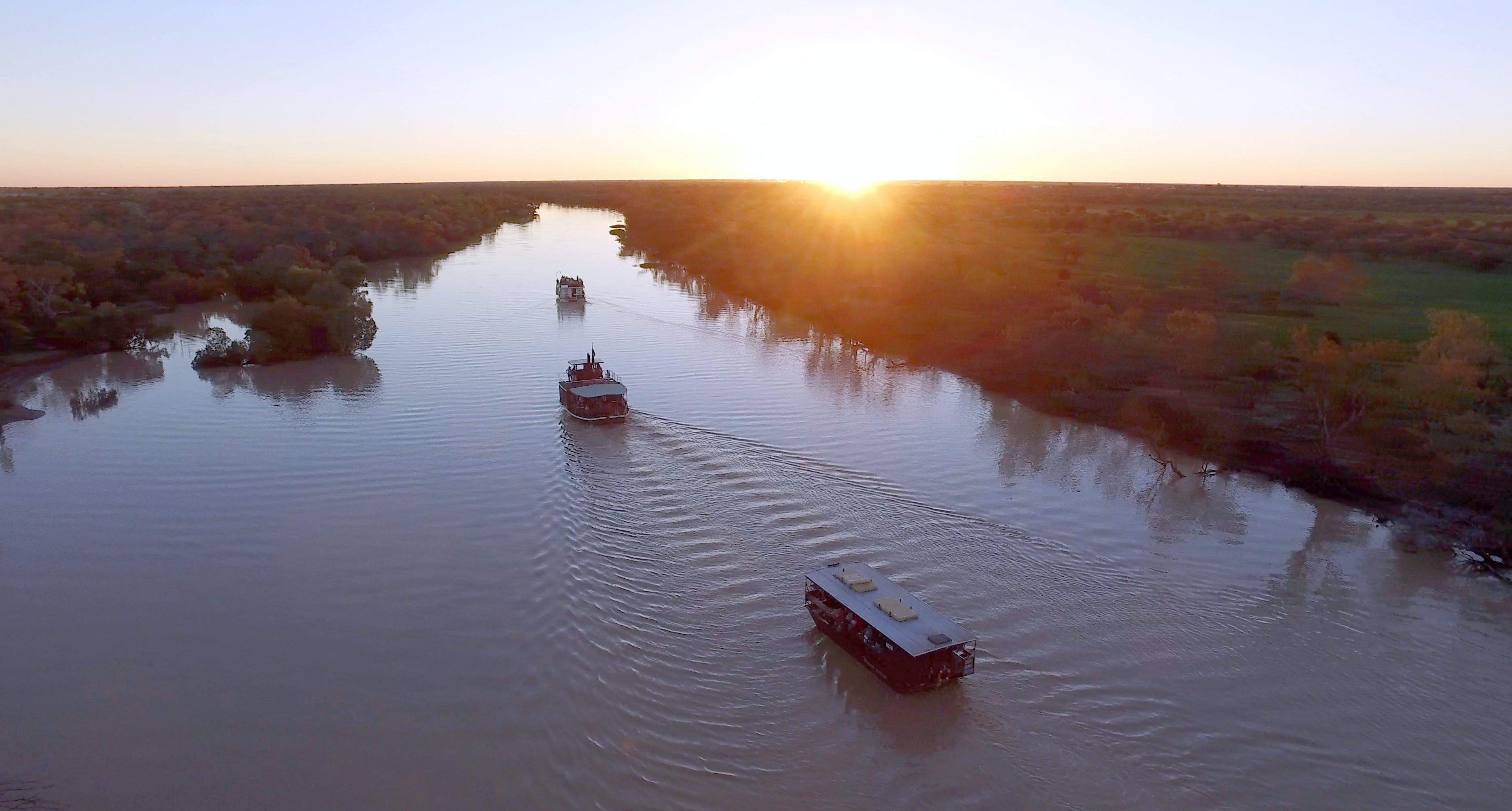 Thomson River Longreach - Accommodation VIC