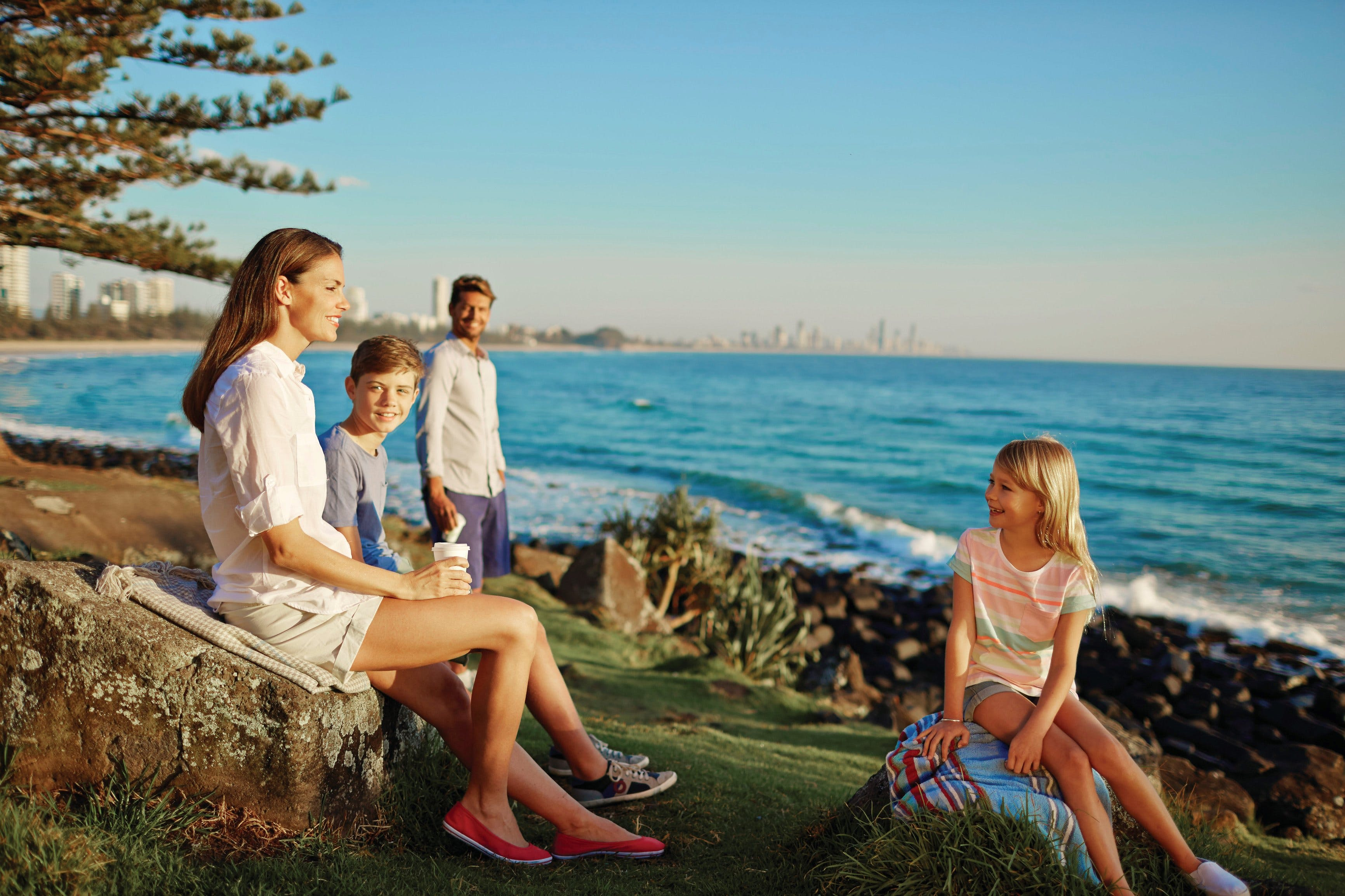 Oceanview Walk Burleigh Head National Park - Accommodation VIC