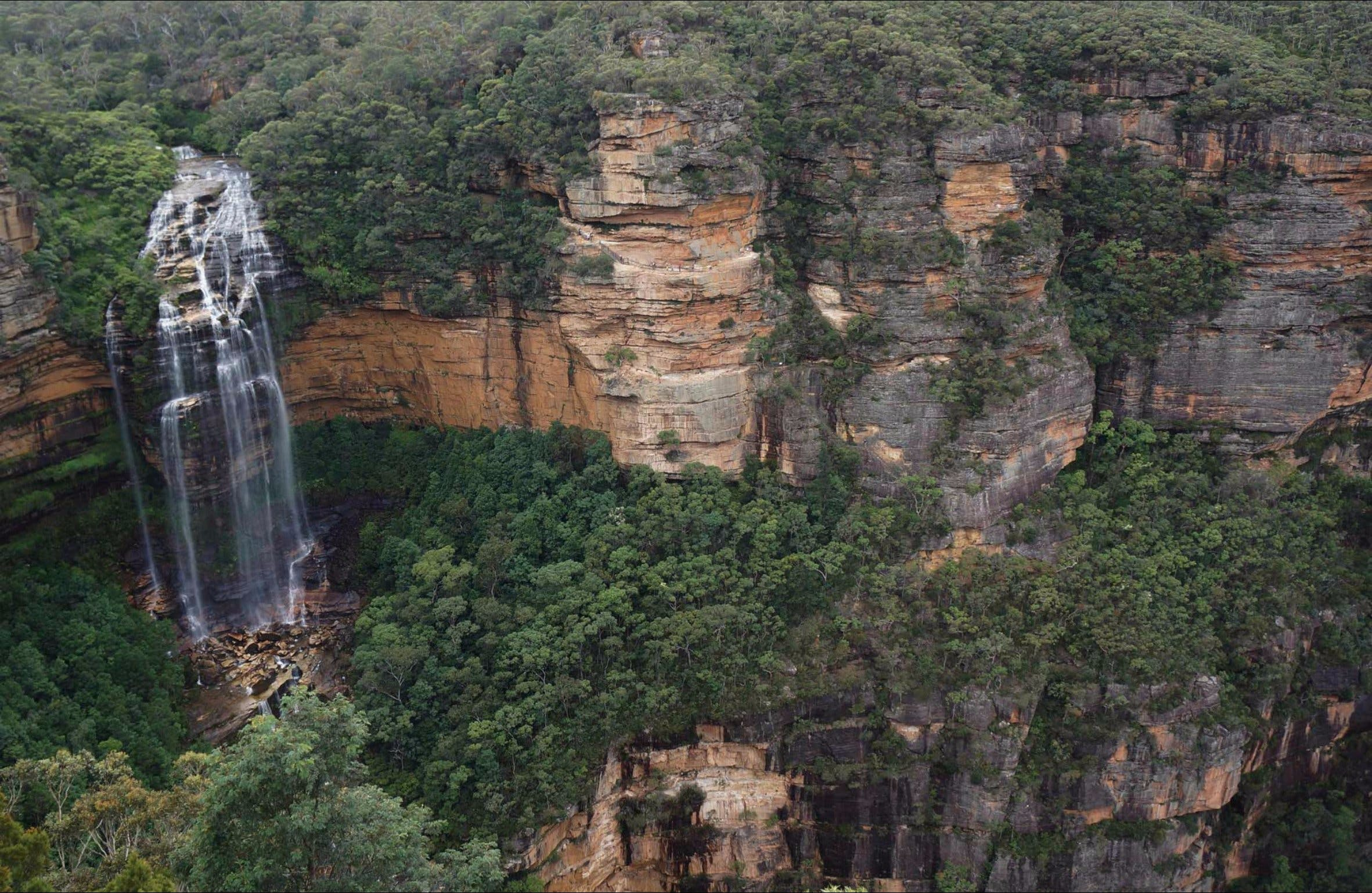Wentworth Falls Lookout - Accommodation VIC