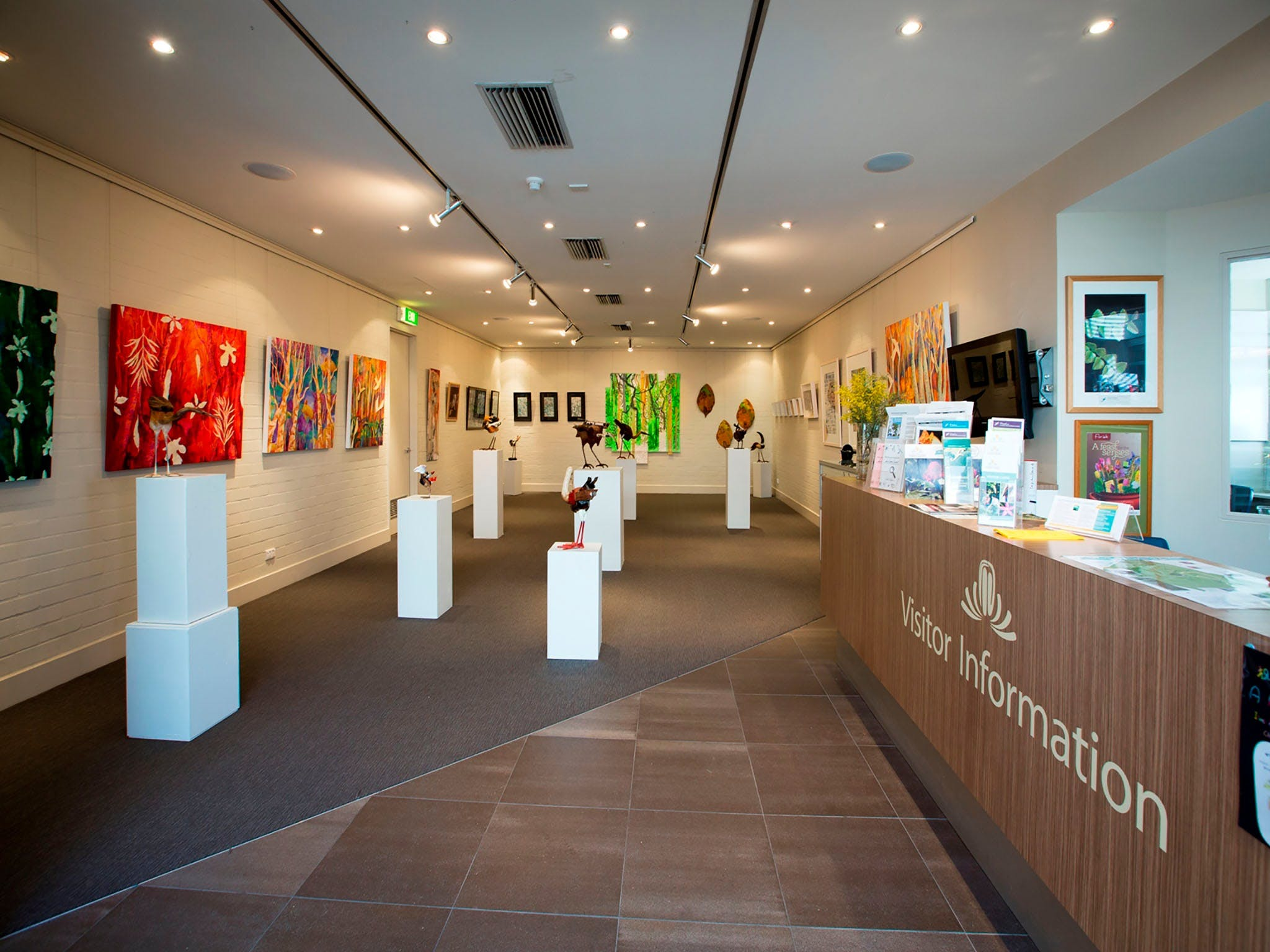 Australian National Botanic Gardens Visitor Centre Gallery - Accommodation VIC