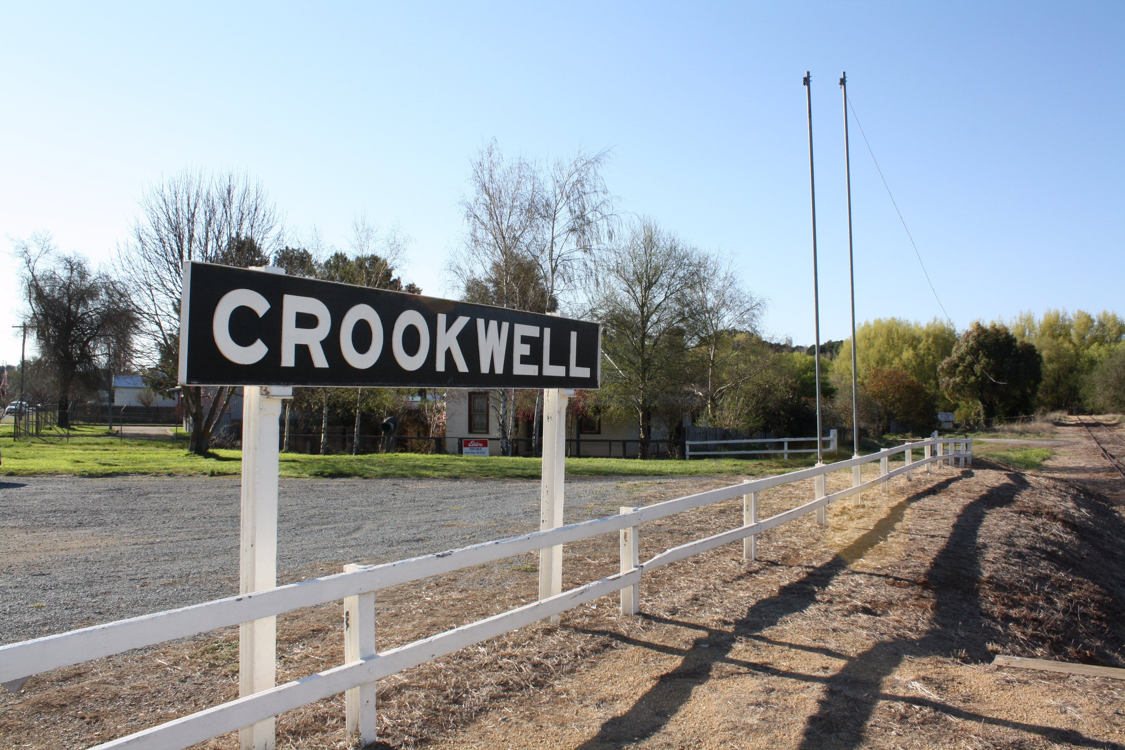 Crookwell Railway Station - Accommodation VIC