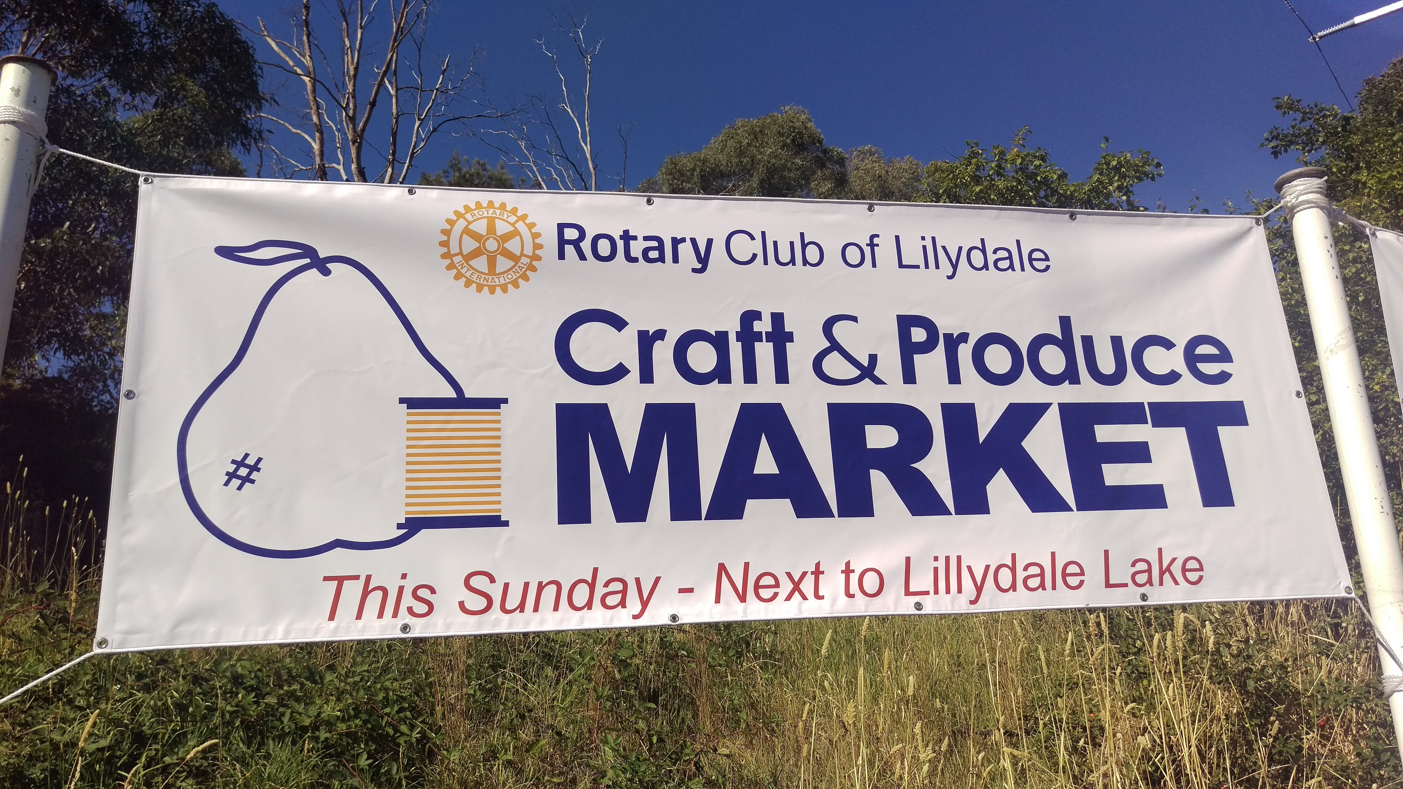 Rotary Club of Lilydale Craft and Produce Market - Accommodation VIC