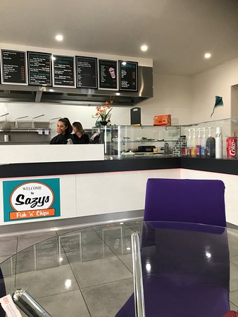 Sazys Fish  Chips - Accommodation VIC
