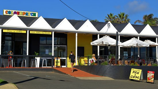 Colourpatch Fish  Chips and Cafe - Accommodation VIC