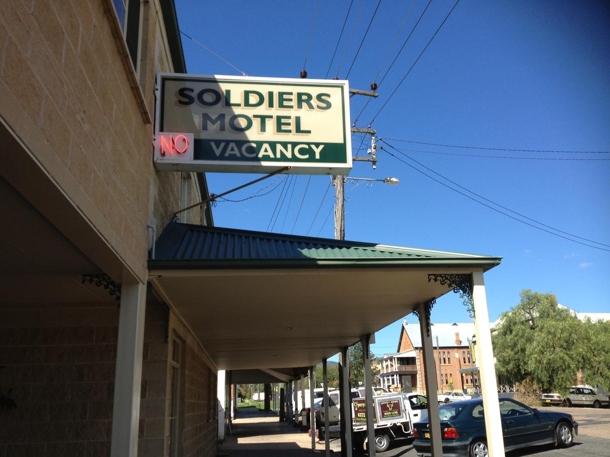 Soldiers Motel - Accommodation VIC